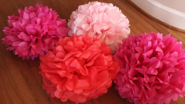 Bunga Dari Kertas Tisu | Joy Studio Design Gallery - Best