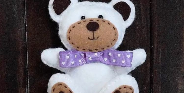 Cara Membuat Boneka Beruang dari Kain Flanel yang Mudah Dibuat  9fbbde98f1